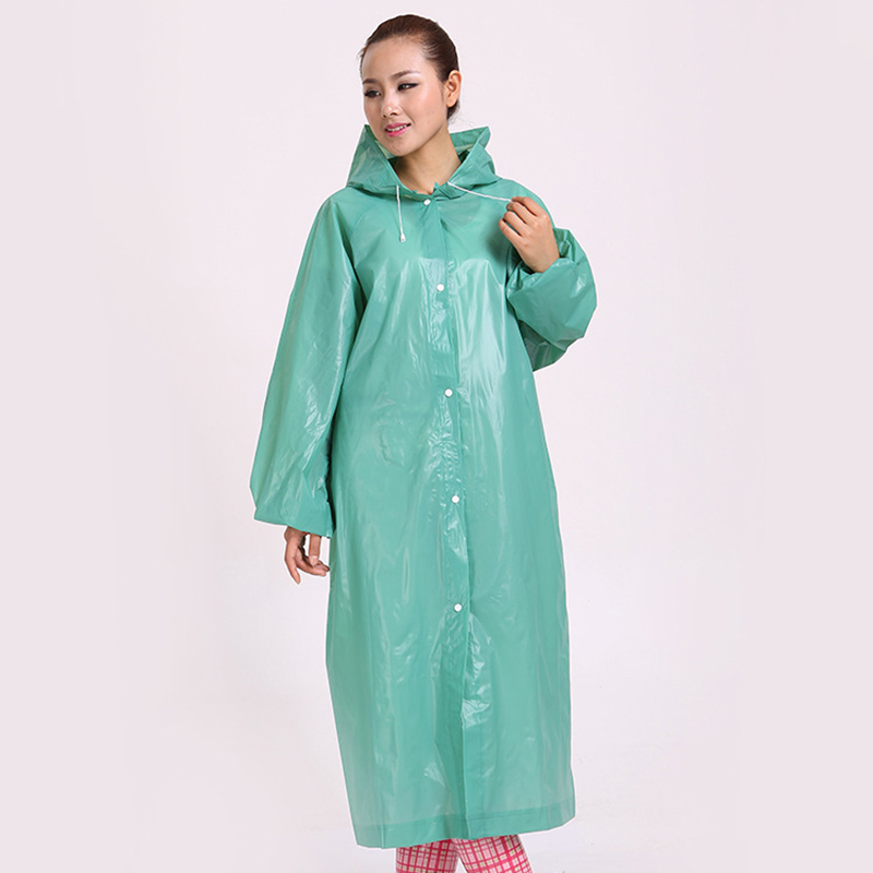 New Men Women PEVA Thickening Travel Equipment Adult Disposable Raincoat  Outdoor Hiking Camping PE Transparent Rain Coat Poncho-in Raincoats from  Home ... 008fa51be728