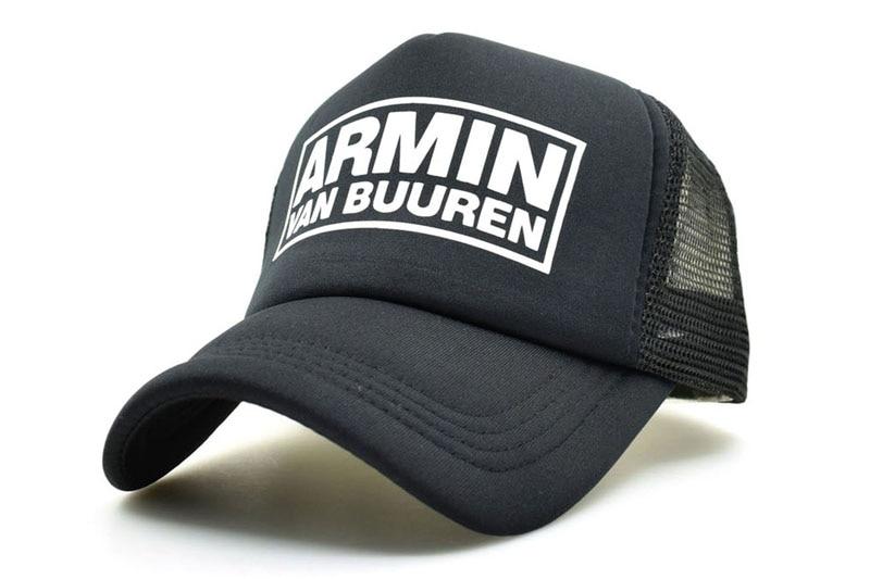 CLIMATE DJ Armin Van Buuren DJ Fans Trucker Mesh Cool Caps Together In A State of Trance Cap Women Men Music DJ Fans Cap Hat