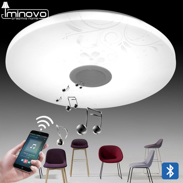 aliexpress com kup iminovo modern blutooth music led ceiling