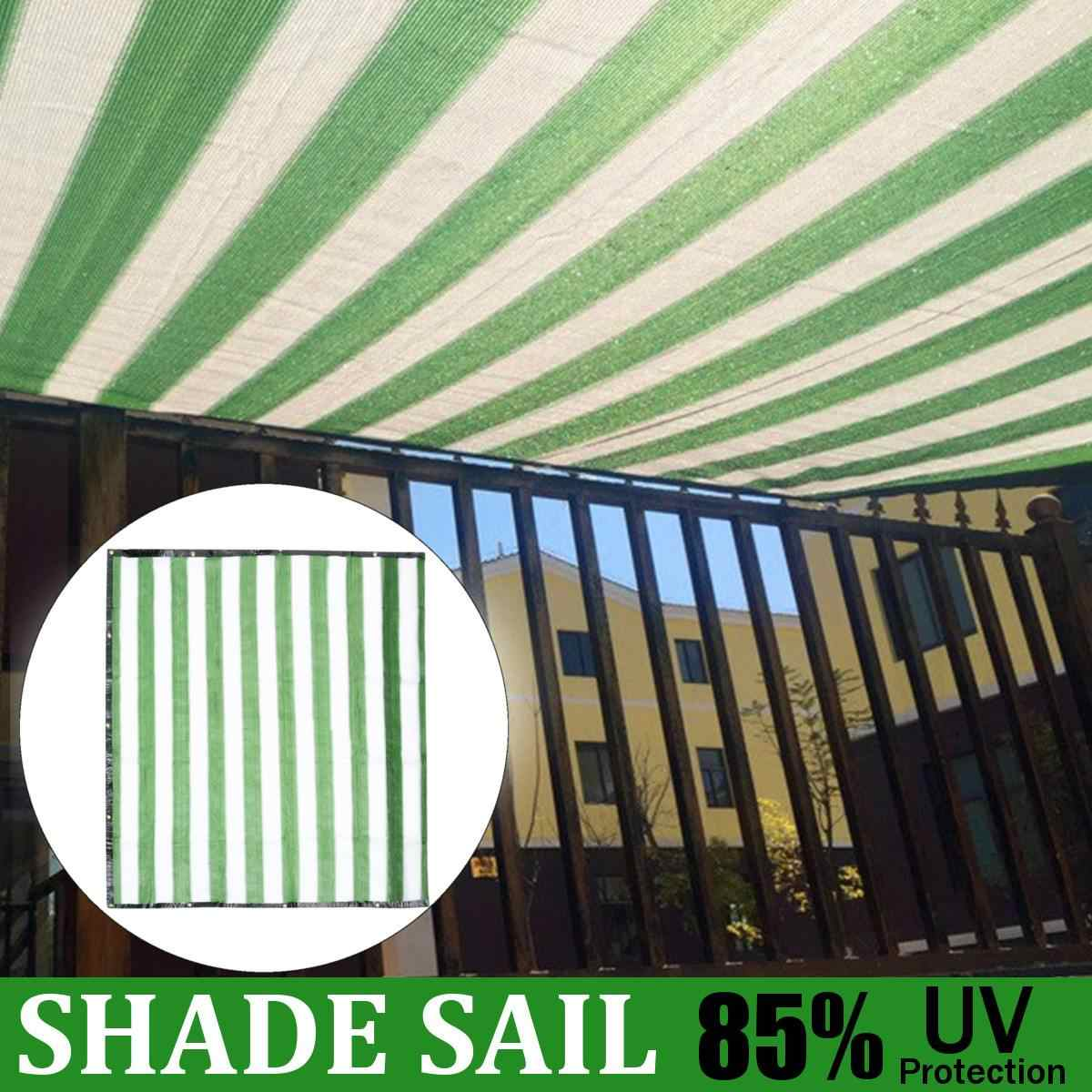 2 Size Shade Sail Net Cloth Outdoor Swimming Pool Waterproof ...