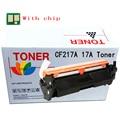 1pk Замена CF217A 17A Черный тонер-картридж для hp LaserJet Pro M102a M102w MFP M130A M130fn M130fw M103nw + с чипом