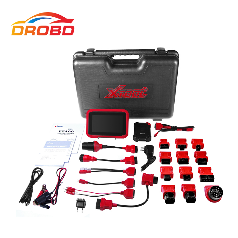 Original XTOOL EZ400 Diagnostic Tool OBD2 OBDII Scanner Diagnostic-Tool Same Function X431 Pro,MS906 2 Years Update Online