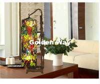 Free Shipping Mediterranean Bohemia Style Creative Table Lamps Tiffany Color Shell Bedside Living Room Bedroom Table