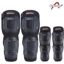 VEMAR Knee Pads Motorcycle Riding Protector Motorbike Racing Motocross & Elbows Guards Set Protective Gear