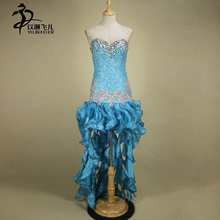 Tassel Latin Dance Dress Clothing Girls Salsa Costume Ballroom Competition Skirt