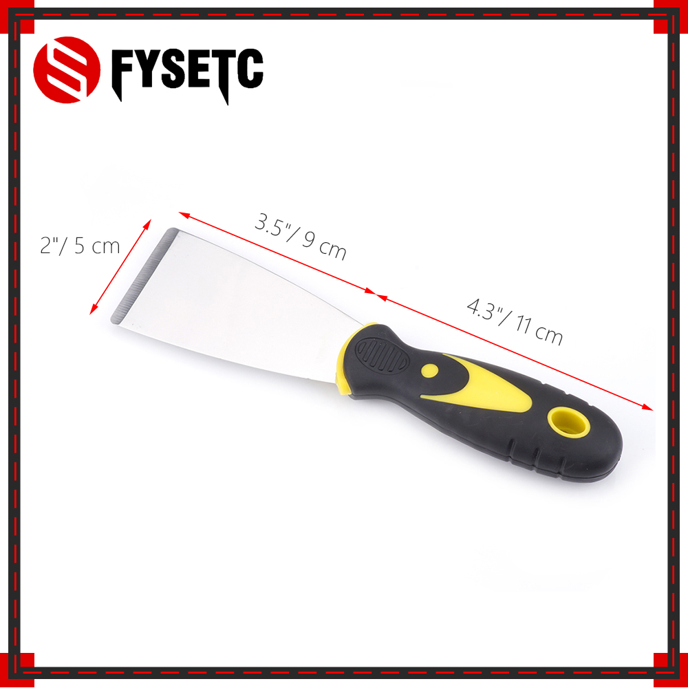 1PC 3D Printer Tool Handmade 3D Print Removal Tool Steel Spatula Professional With Box Package 3D Printer Accessories