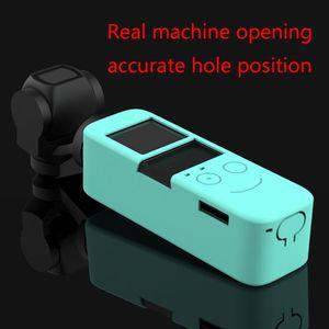 Image 4 - Funda protectora de silicona suave para lente carcasa de piel para DJI Osmo Pocket cardán, Kit de accesorios para cámara, 1 Juego