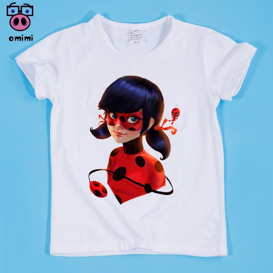 Kid's Miraculous Ladybug Cartoon T-shirt