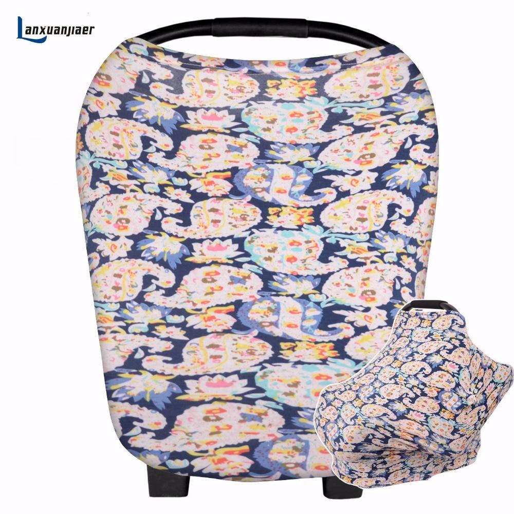Nursing Breastfeeding Cover Scarf, Baby Car Seat Cover ...