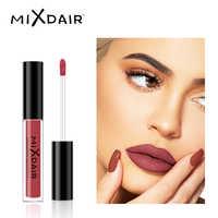 MIXDAIR Samt Flüssigkeit Matte Lippenstift Wasserdicht Farbton Lip Stick Langlebige matte Lip Gloss Make-Up Professionelle Schönheit Kosmetische