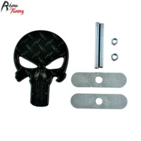 Rhino Tuning The Punisher Auto Styling Car Front Grille Grill Emblem Skull Badge For Onix HB20