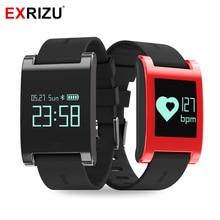 Exrizu EX68 Спорт Водонепроницаемый Смарт Группа Браслет фитнес-трекер крови Давление монитор сердечного ритма вызывает сообщение напоминание часы
