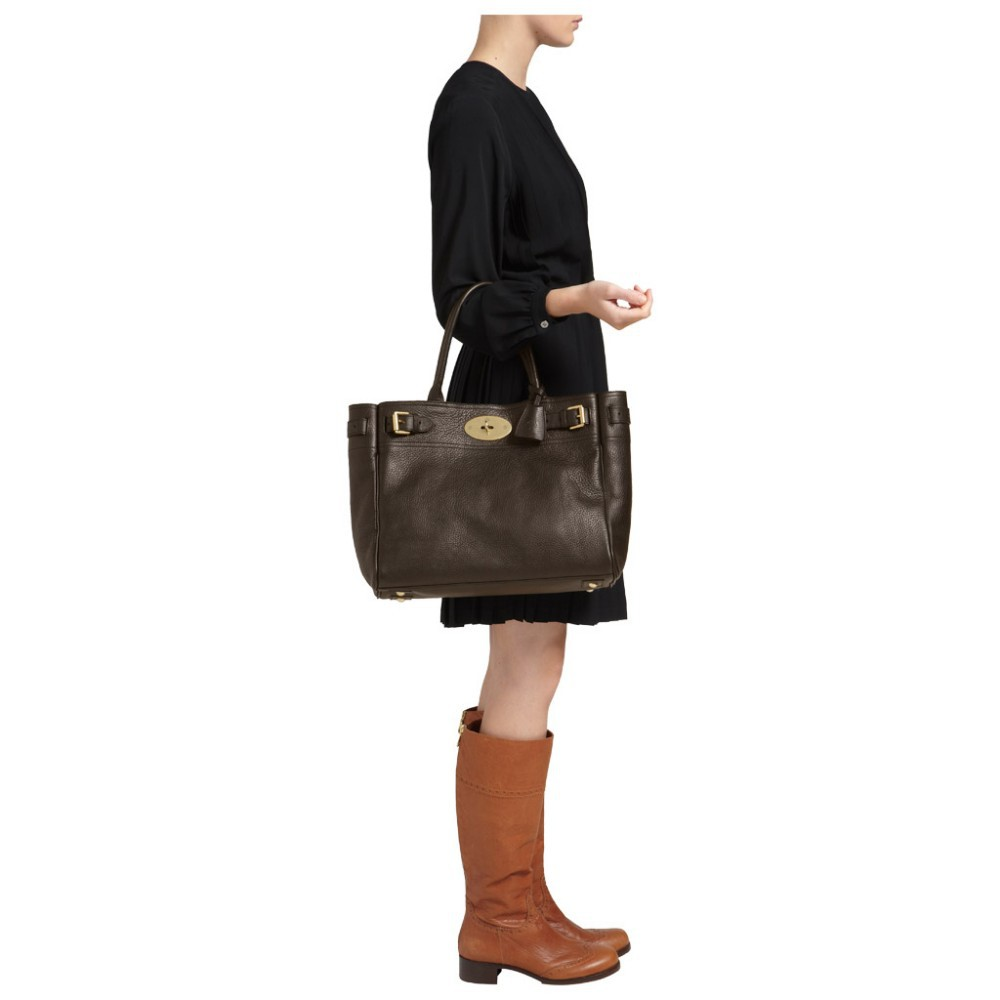 cf215c4504 ... Black Natural Leather 650 3 Mulberry Bayswater Tote Bag Chocolate Natural  Leather 650 3 ...