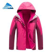 Hot Sale Waterproof Leisure Outdoor Winter Jacket Women Camping Hiking Ski Coat Climbing Fishing Chaquetas Mujer Thermal Casaco