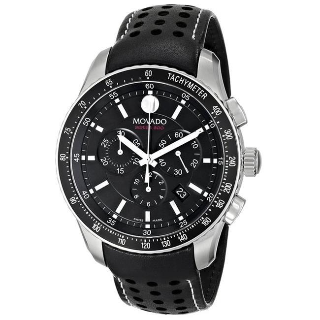 Movado Series 800 Chronograph Mens Watch 2600096 movado 0607032
