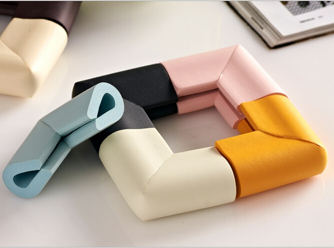 4pcs U Shape Soft Toddler Baby Child Kids Desk Table Edge Corner Safety Protector Guards Sticker Cushion Pad Anti Crash Bumper