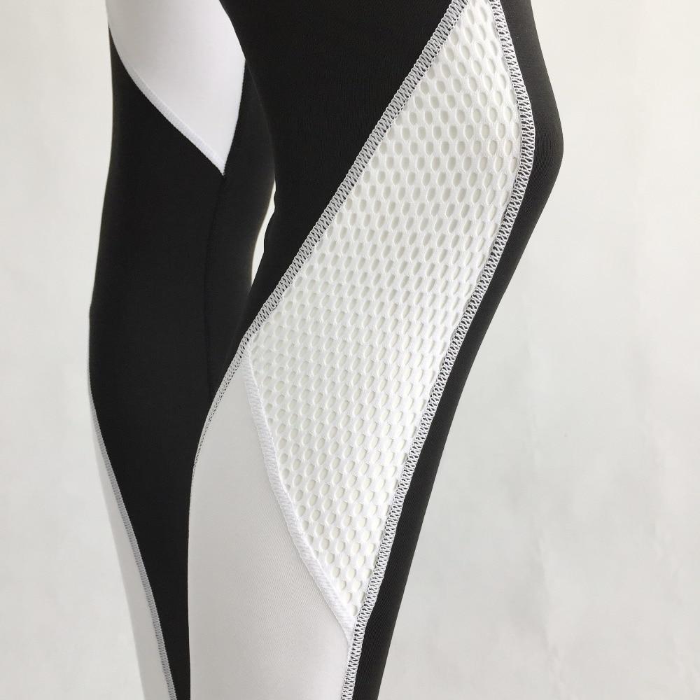 76abdfcdcf2ed S QVSIA heart pattern mesh splice legging harajuku athleisure fitness  clothing sportswear elastic sporting leggings women pants-in Pants & Capris  from ...