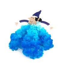 2017 10PCS Vizuale Magic cresc Elf Copaci DIY Magic Growing Paper Moș Crăciun Copac japonez Cadouri de Crăciun Wizard Copii Jucarii