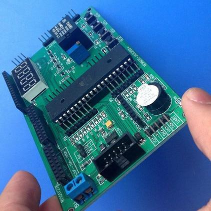 Fast Free Ship 1set contains 2pcs for ATmega16 NRF905 CC1100 NRF24L01 NRF2401A wireless development board