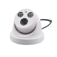 Hot 2 IR LED CMOS 1200TVL Dome Camera H 264 Indoor Infrared Home Cameras 2 8mm