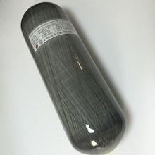 High Quality Big promotion 9L 300bar 4500Psi Carbon Fiber Composited Gas Cylinder with RED Valve -Acecare V