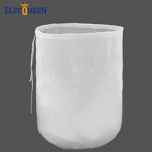 38x45 см фильтр для пивоварения многоразовый нейлоновый сетчатый фильтр для пищевых продуктов зерновой пакет для пивоварения вина для изготовления домашнего пивоварения ведро тип фильтра