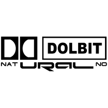 CK2322#30*10cm DOLBIT NATURAL NO funny car sticker vinyl decal silver/black auto stickers for bumper window decor