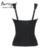 Burvogue novas mulheres látex 7 slimming body shaper do espartilho de aço desossado overbust corset bustier cintura controle corset plus size shapewear