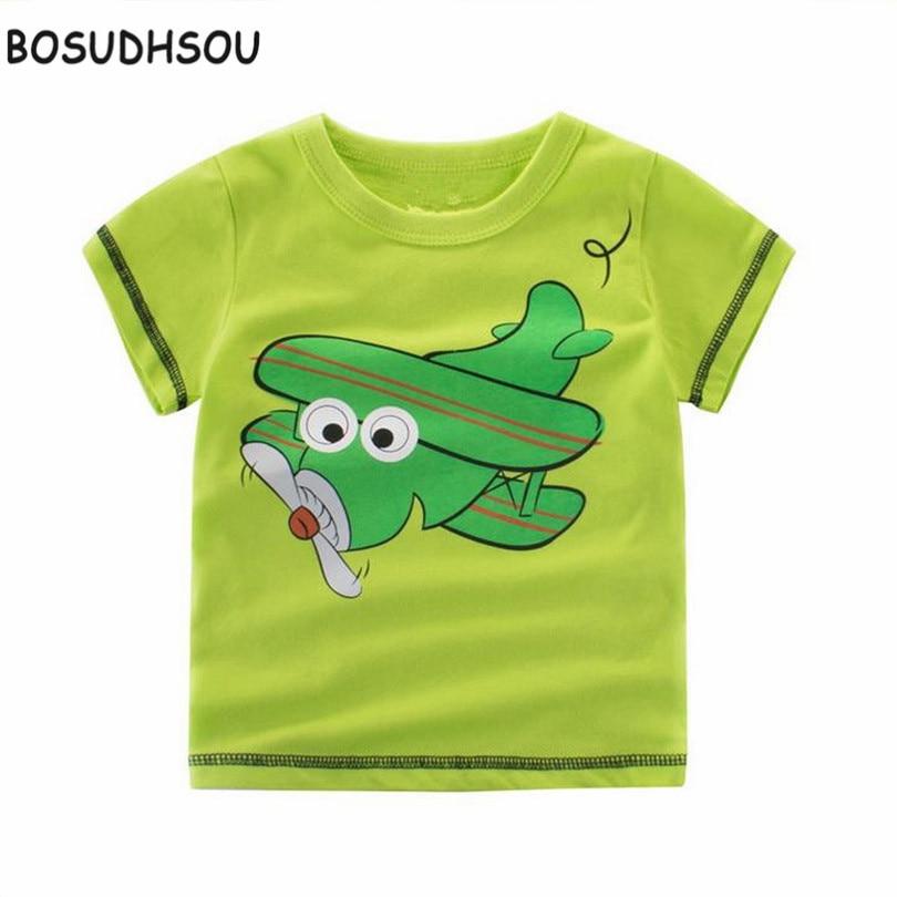 Bosudhsou H-29 Діти Футболка Хлопчики Одяг - Дитячий одяг - фото 2