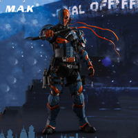 For Collection VGM30 1/6 Full Set Hot Toys Batman Arkham Origins Deathstroke Action Figure 12'' Doll Boxed Fans Holiday Gifts
