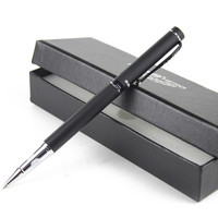 Authentic Gift Pen With Box 0 5 Mm High Grade Roller Pen Arenaceous Black Metal Felt
