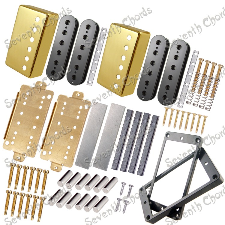 magnet whole set lp electric guitar humbuckers making accessories with golden pickup cover in. Black Bedroom Furniture Sets. Home Design Ideas