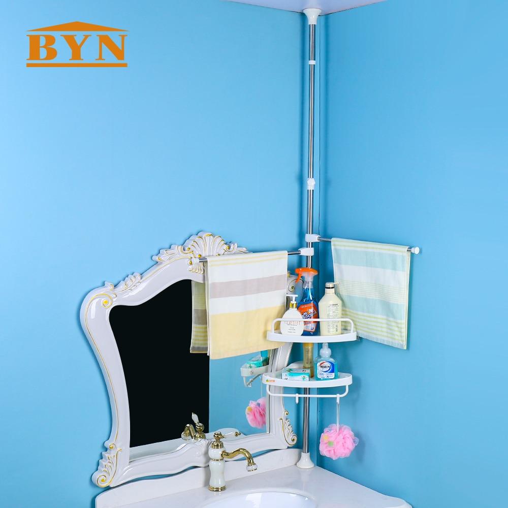 Aliexpress.com : Buy BYN Bathroom adjustable shower corner Rack ...