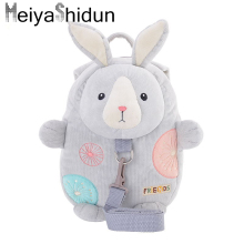 Meiyashidun Cartoon Animals Kid Baby Bag children backpacks/kindergarten backpack/Cute school bags/Satchel for boy girls Mochila