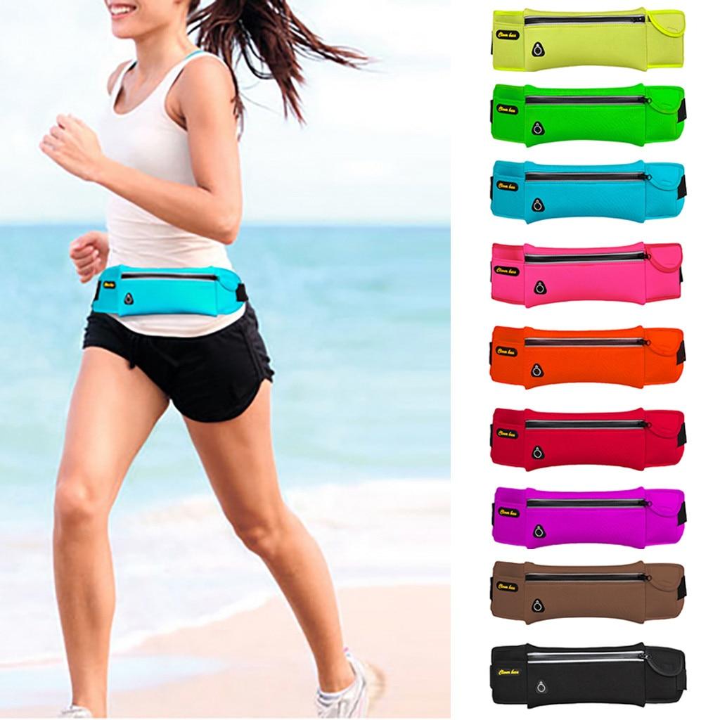 Waist Purse Honey Bee Logo Unisex Outdoor Sports Pouch Fitness Runners Waist Bags