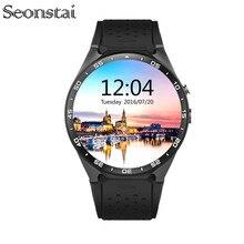 3กรัมkw88 mtk6580 android 5.1 os smart watchโทรศัพท์1.39นิ้วหน้าจอ2.0MPกล้องQuad Core S Mart W Atchสนับสนุนซิมหัวใจอัตรา