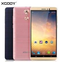 Ограниченное предложение Xgody Y14 смартфон 6,0 дюймов 1 ГБ Оперативная память 8 ГБ Встроенная память Android 5,1 4 ядра 5.0MP + 5MP Dual SIM карты telefono mobil 3g сотовый телефон разблокировать