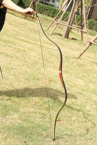 tradicional artesanal longbow caca recurvo arco 30 50lbs