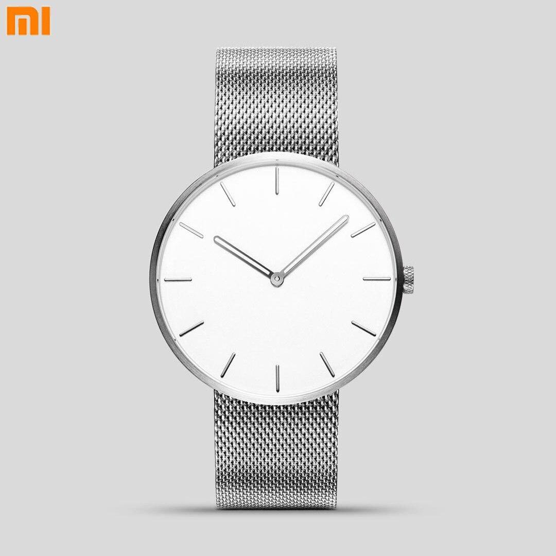 Original Xiaomi TwentySeventeen Leuchtende Wasserdichte Mode Quarzuhr Elegante 316L Stahl Beste Uhr Marken Für Männer Frauen