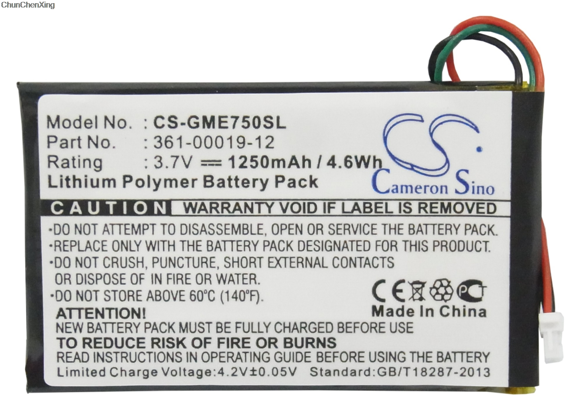 Cameron Sino 1250 Mah Batterie 361-00019-12 Für Garmin Edge 605 705 Jahre Lang StöRungsfreien Service GewäHrleisten Unterhaltungselektronik Stromquelle