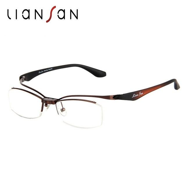 liansan occhiali  LianSan Vintage Retro Della Lega Regolabile Occhiali Metà orlo ...