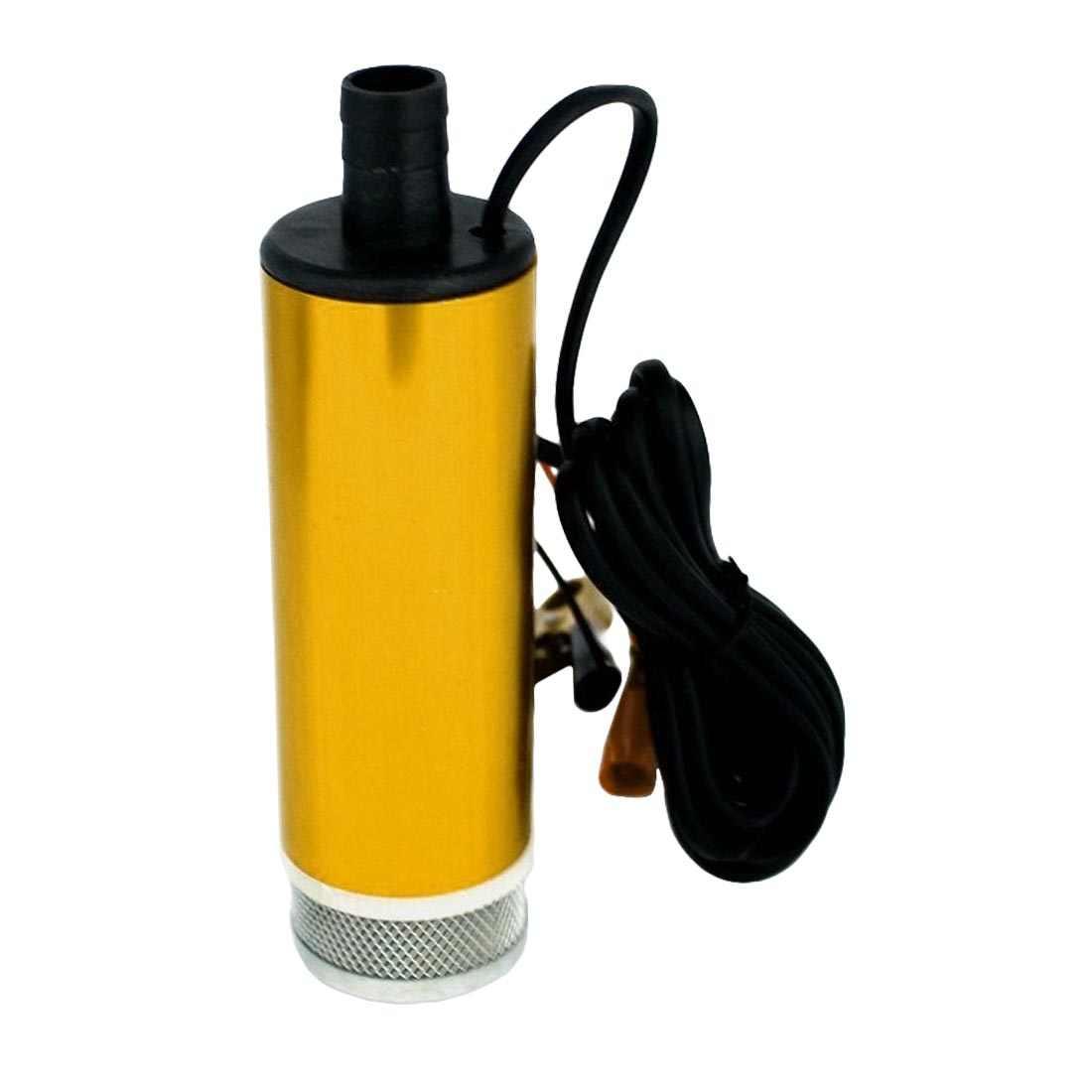 Waterpomp DC 12 V/24 V 30L/min Aluminium Dompelpompen Elektrische Bilge Pomp voor Diesel/ olie/Water/Fuel Transfer met Schakelaar