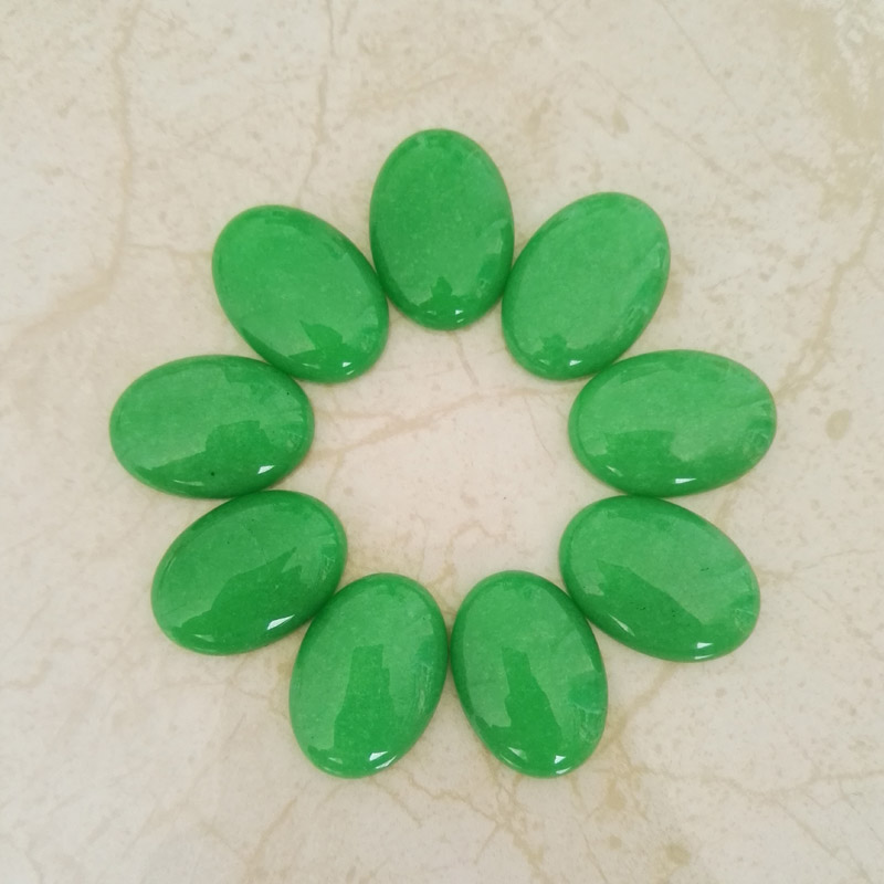 Malaysia Natural Stone cab cabochon 20PC 25x18MM Oval shape Beads for jewelry making charms Ring necklace parts Free shipping