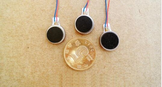 30pcs/lot 12MM*2.8 MM Micro Button / Coin / Pancake Type Vibration Motor 2 V-5 V High Magnetic And Vibratory Sensation