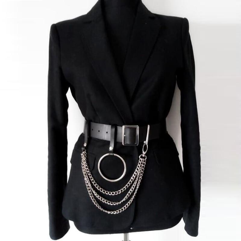 UYEE Hot Sell Women PU Leather Harness B