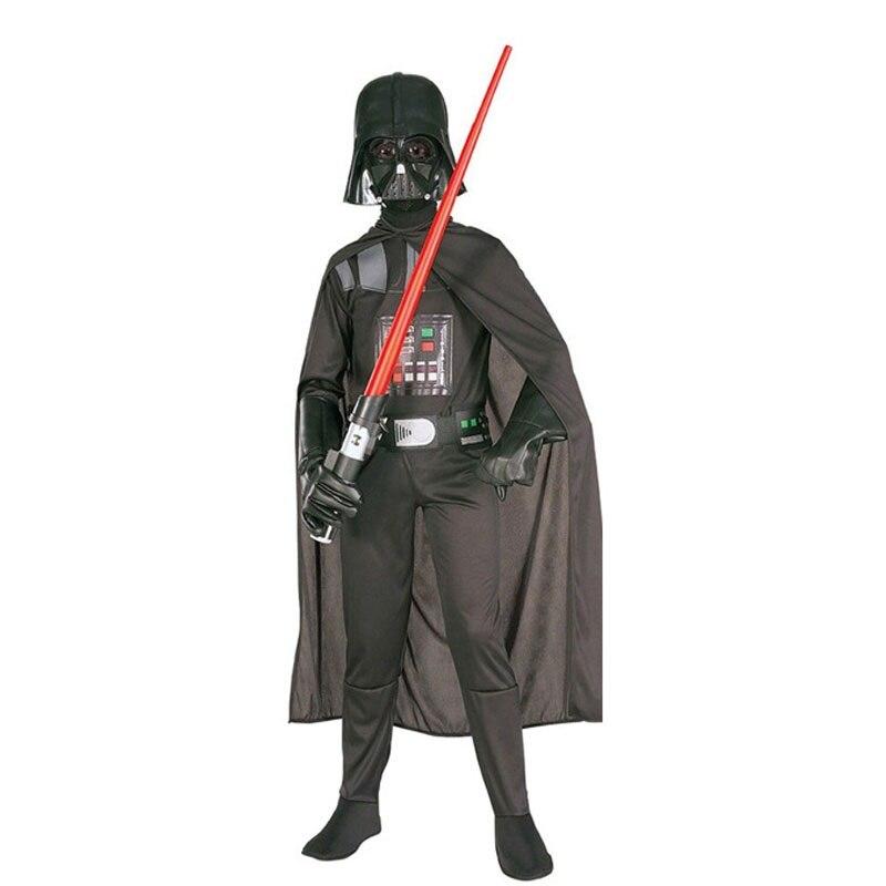 Halloween Costume Superhero Darth Vader Cape and Mask for Kids Unisex Boy Girl