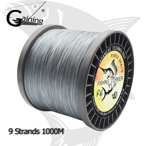 9 Strands Braided Fishing Line 1000M PE Wire Multifilament Fishing Line Ocean Beach Fishing Braided Line