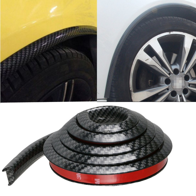 Car Wheel Well Moulding 4pcs Waterproof 59 Quot 150cm Car