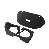 Soft touch Silicone Skin Protection Part Cover Protective Case VR Pads For PlayStation PS4 VR PSVR Virtual Reality Headset