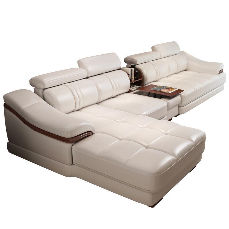 Home Pouf Moderne Sillon Puff Para Sectional Meble Mobili Meubel Couch Leather De Sala Mueble Set Living Room Furniture Sofa